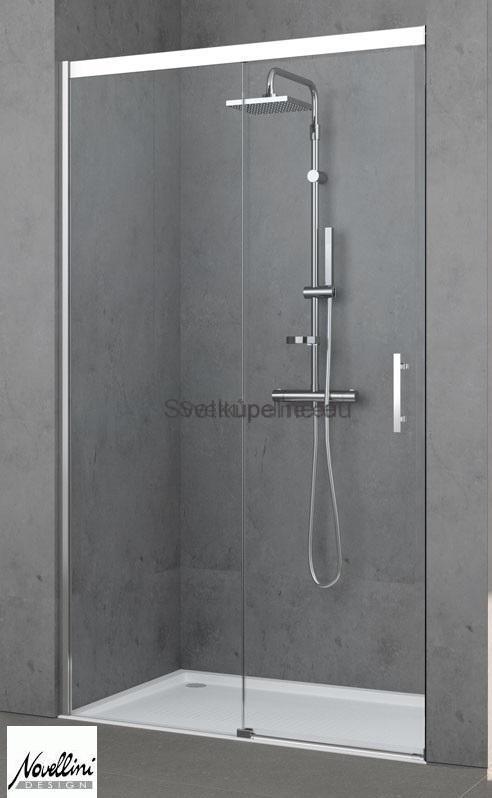 NOVELLINI Sprchové dvere posuvné KALI PH 108-109,5 cmx195 cm,bez bariérový vstup