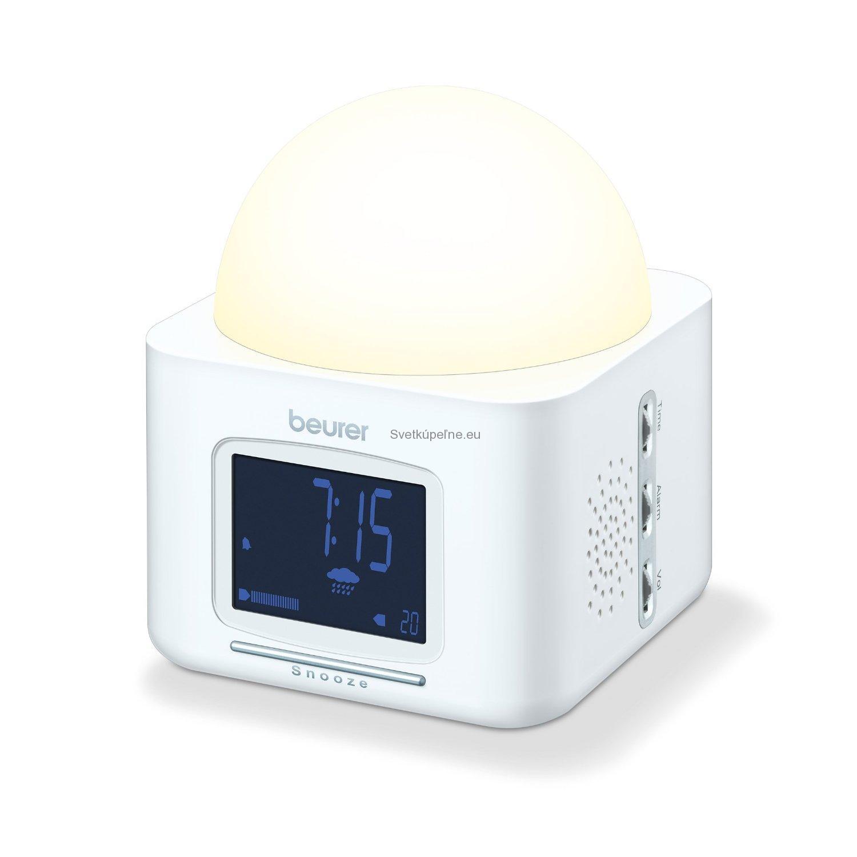 WL 30 budík so svetlom a rádiom