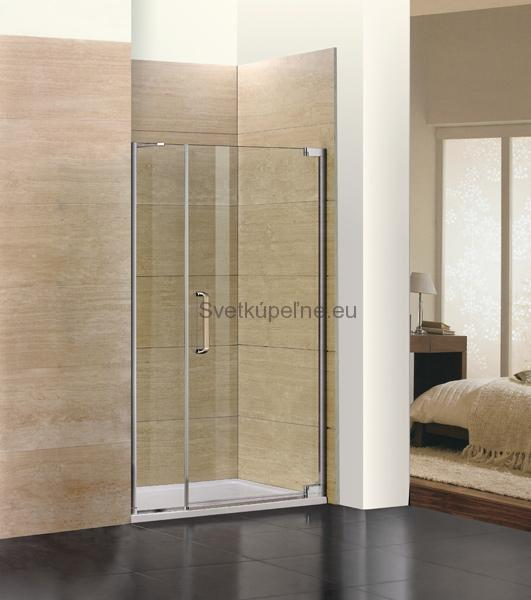 d5a00089cfd34 Aquatek Sprchovacie dvere do Niky PARTY B7 120 cm