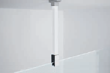 NOVELLINI vzpera 100 cm uchytenie do stropu pre sprchové zasteny KALI,KUADRA